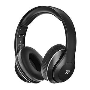 TaoTronics Wireless Headset Over Ear Headphones with Lightweight Memory Foam Ear Pads £20.99 Prime / £20.99 non Prime Sold by Sunvalleytek-UK and Fulfilled by Amazon