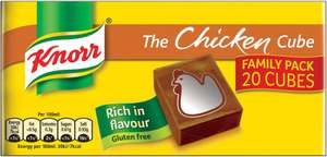 Knorr Stock Cubes Beef / Chicken / Vegetable (20 x 10g) (Gluten Free) was £3.00 now £2.00 @ Sainsbury's