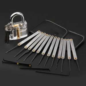 Transparent Skill Training Padlock Set £5.88 Delivered using code @ Gearbest