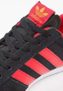 adidas Originals Leonero Trainers - core black/scarlet/tactile yellow - now £35.74 delivered @ Zalando
