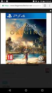 Assassin's Creed Origins PS4 £37.95 @ The Game Collection