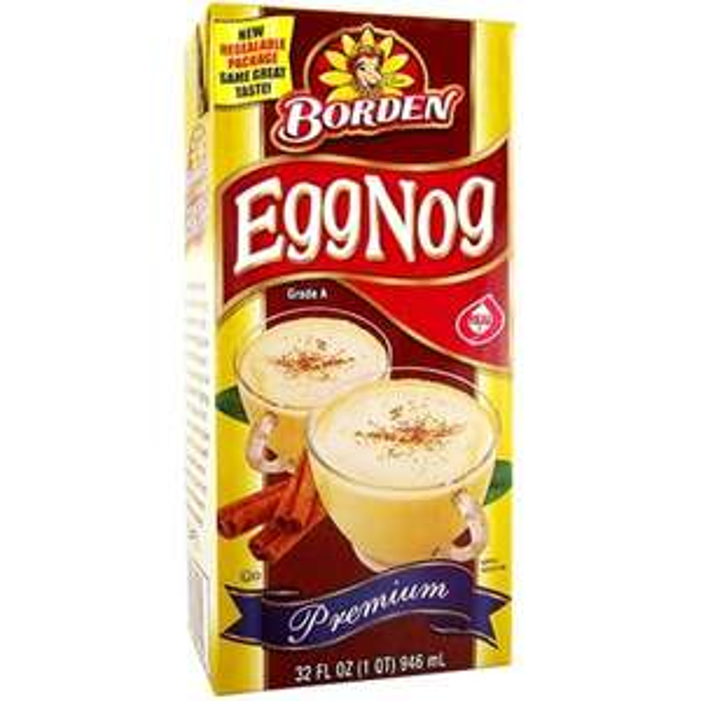 Borden Premium Eggnog 946ml EXP: Dec '17 50p / £4.75 delivered @ American Soda