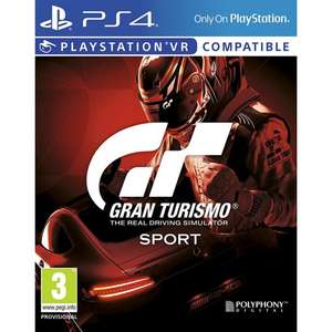 Gran Turismo Sport [PS4] £33.95 @ TheGameCollection