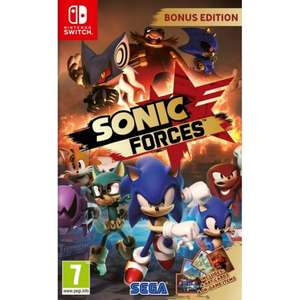 Sonic Forces Bonus Edition [Switch] £24.95 @ TheGameCollection