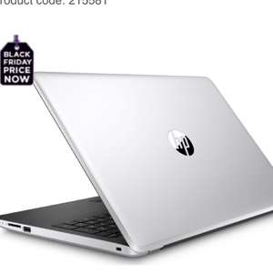 """Currys Pre Black Friday - HP 15-bs559sa 15.6"""" Laptop - Silver £349"""