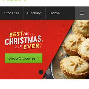 Place 4 orders at Asda groceries and receive £20 credit