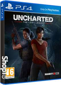 [PS4] Uncharted: The Lost Legacy Plus Jak and Daxter: The Precursor Legacy - £19.85 - Shopto (Back Order)
