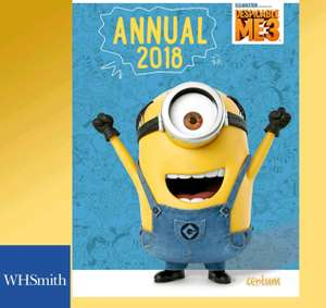 Despicable  Me 3  Annual 2018 for £1 from O2 priority. WHSmith High Street stores only