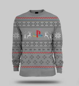 PlayStation Console Xmas Jumper - £14.86 - Shopto