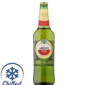 Amstel 650ml - £0.66 - Morrisons and CheckoutSmart