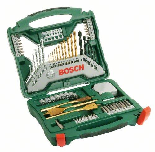 Bosch Titanium Drill and Screwdriver Set, 70 Pieces - £14.02 (Prime Exclusive) @ Amazon