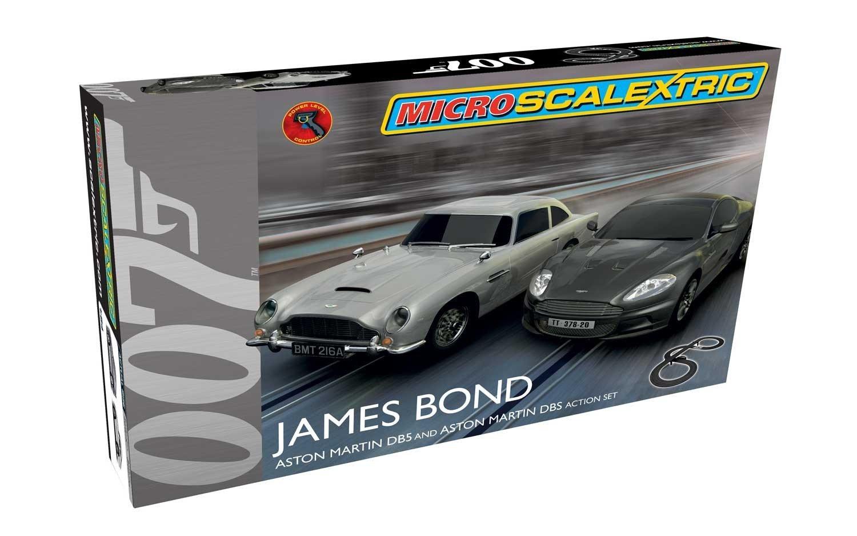 James Bond Scalextric 1:64 Scale Micro James Bond Set £29.99 @ Amazon