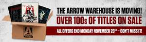 Arrow Films Warehouse Moving Sale - 100s of cult / horror Blu Rays / Boxsets / DVDs on offer from Arrow Video / Second Run (Includes ltd edition Phantasm set for £45, Pulse £5)