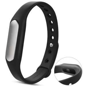 Original Xiaomi Mi Band 1S Heart Rate Wristband with White LED  -  BLACK - £5.43 plus Free Shipping @ Gearbest