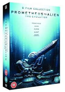 Prometheus to Alien - The Evolution 5-Film Collection [1979] (DVD) £9.99 delivered @ The Entertainment Store on Ebay