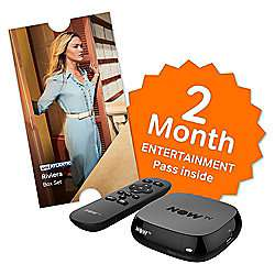 Now TV HD Box + Sky Entertainment 2 Month Pass / 3 Months Kids Pass / 1 Month Cinema Pass + 500 Clubcard Points (worth £5 to £10) + Sky Store voucher (worth £5.49) =  £12.50 @ Tesco Direct (and instore)