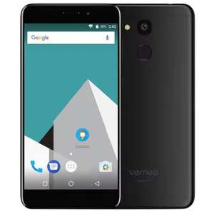 "Vernee M5 4G Smartphone, 5.2"" 1280x720, MTK6750 Octa-Core 1.5GHz, 4GB/64GB, Fingerprint Scanner, MicroSD, 13MP/8MP, Android 7.0, 3300mAh £84.05 (Black Only), With Code @ Gearbest"