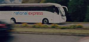 NATIONAL EXPRESS Rewards - £15 per month - £16.87 CASHBACK on next booking