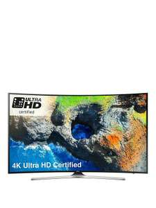 Samsung UE49MU6220KXXU 49 Inch, 4K Ultra HD Certified, HDR, Smart, Curved TV £499.99 - Very