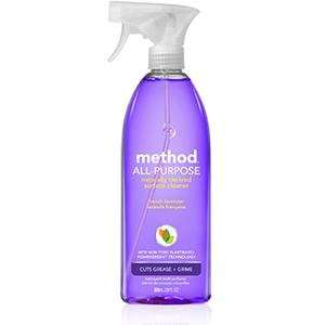 Method Multi-Surface Cleaner (French Lavender,Clementine, Bathroom, Ylang Y. 828ml) SAINSBURYS - £2