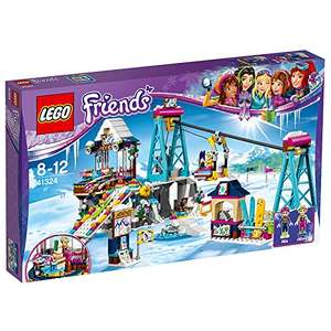 LEGO UK 41324 Snow Resort Ski Lift Construction Toy - £31.99 Amazon