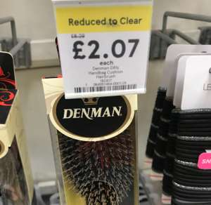 Denman brushes reduced from £8.29 to £2.07 in Tesco