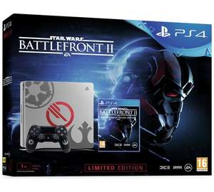 PS4 Slim 1TB Star Wars Battlefront 2 Deluxe Bundle + GT Sport £249.99 @ Argos Black Friday