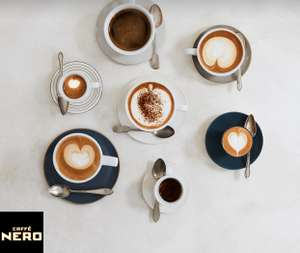 Free Drink at Caffè Nero - O2 Priority