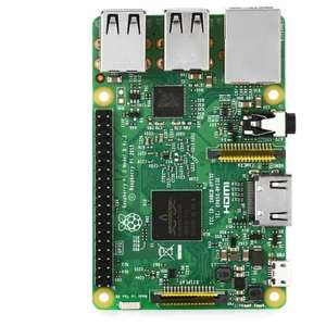 Raspberry Pi 3 Modelo B - Placa Base (1.2 GHz Quad-core ARM Cortex-A53, 1GB RAM, USB 2.0)  -  £25.76 Gearbest