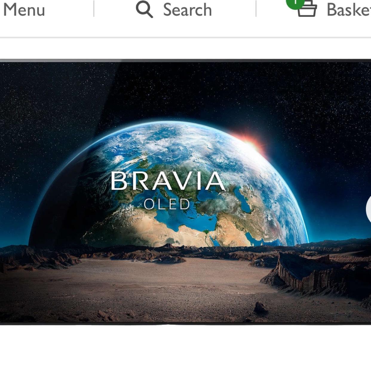 Sony Bravia KD55A1  55 inch 4K OLED TV £2799 John Lewis