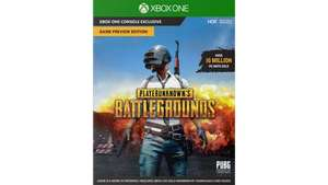 PLAYERUNKNOWN'S BATTLEGROUNDS Pre-order – Game Preview Edition for Xbox One £24.99 at Microsoft Store