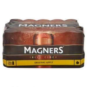 Magners 20 x 440ml Cans £10 at Morrisons instore