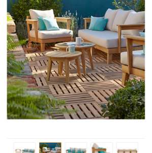 4 piece garden set , B&Q , £229 from £650 . Looks great quality