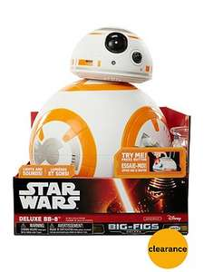 Star Wars deluxe BB8 was £74.99 now £34.99 with free click & collect @ Very