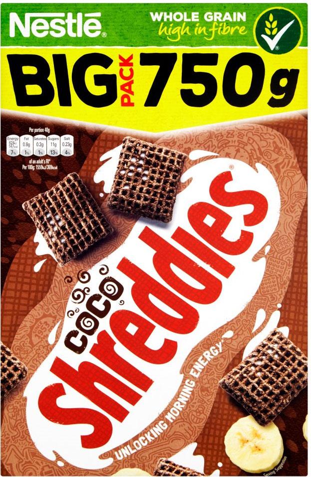 Nestle Shreddies Coco Cereal (750g) Half Price was £3.40 now £1.70 @ Tesco