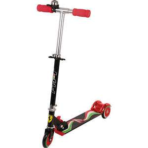 Official Ferrari 3 wheel folding scooter now £17.99 delivered @ eBay sold by thinkprice