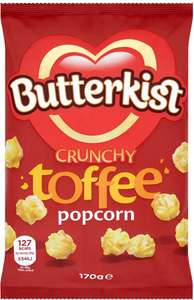 Butterkist Chocolate Mallow Popcorn (170g) Half Price was £1.49 now 74p @ Tesco