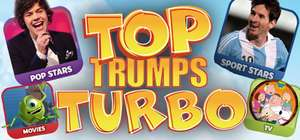 Free Steam key from IndieGala Top Trumps Turbo