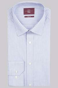 Half price shirts starting from £12.50 + further 10% off with code @ Moss Bros (free c+c)