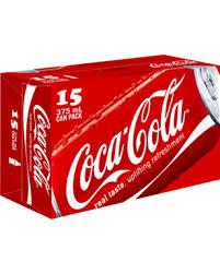 18 can pack (x15 classic coke, x3 zero sugar) £2.50 @ Tesco