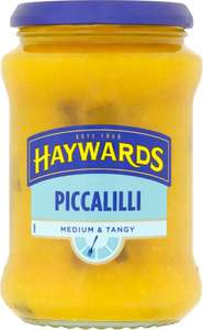 Haywards Piccalilli and Haywards Sweet Piccalilli (400g) was £1.89 now £1.00 @ Tesco