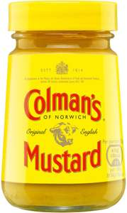 Colman's Original English Mustard (170g) was £1.55 now Only 75p @ Sainsbury's
