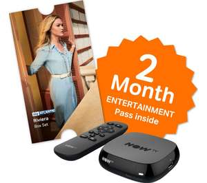 NOW TV Box + 2 month Entertainment Pass or 1 month Sky Movies Pass + Sky Store Voucher £12.49 @ CurrysPCworld