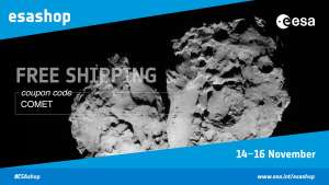 European Space Agency store - Free shipping