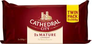 Cathedral City Mature Cheese Twin Pack (2 x 350g) was £6.00 now £4.00 (£5.71 a Kilo) @ Ocado