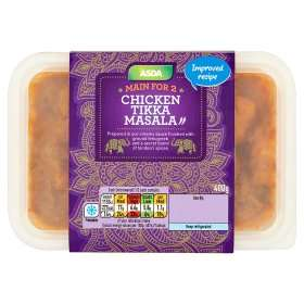 ASDA Chicken Tikka Masala (400g) was £3.50 now £2.50 (Rollback Deal) @ Asda