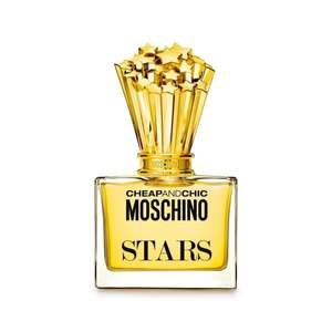 MOSCHINO Cheap and Chic Stars EDP 50ml now £10 + Free Delivery @ BeautyBase (plus free sample & gift wrap)