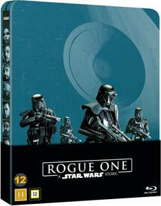 Star Wars: Rogue One Bluray Steelbook £24.99 @ Coolshop