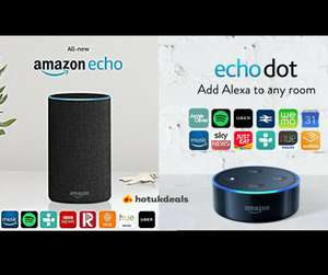 *Now live* Early Black Friday deal - Amazon Echo 2nd Gen £69.99 / Amazon Echo Dot £34.99 @ Amazon + Best Amazon Deals Megathread