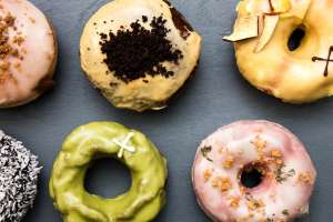 London - Free Doughnuts from Deliveroo - Crosstown Doughnuts and Doughnut Time at Cannon Street, Liverpool Street and Kings Cross!